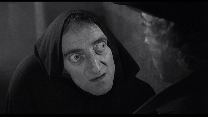 3-Il famigerato sguardo di Marty Feldman si deve alla particolarità dei suoi bulbi oculari prominenti, dallo strabismo divergente, derivato dalla combinazione di problemi conseguenti a iperattività tiroidea e di un'operazione subìta a seguito di un incidente stradale avvenuto in gioventù. La gobba di Igor è stata creata dallo stesso Feldman, il quale l'aveva indossata per giorni prima che gli altri membri del cast se ne rendessero conto.