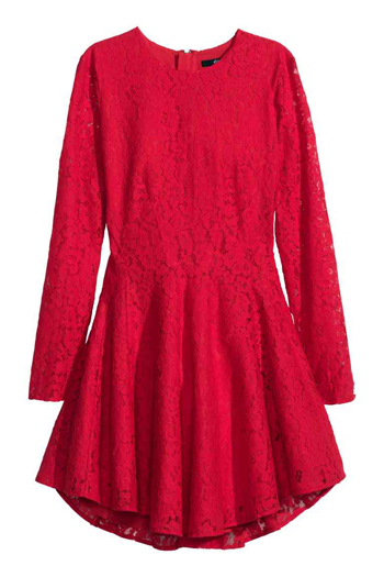 H&M Abito a ruota in pizzo € 34,99
