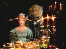 "Susan Sarandon and Klaus Kinski take the title roles in ""Beauty and the Beast,"" an episode of ""Shelley Duvall's Faerie Tale Theatre."""