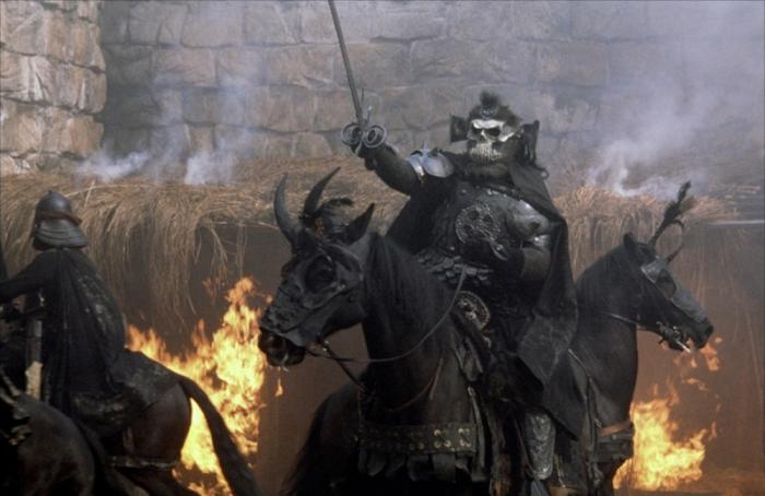 La battaglia contro l'esercito di Bavmorda in Willow (1988)