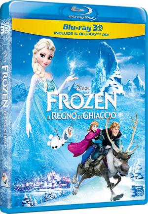 FROZEN - IL REGNO DI GHIACCIO - Blu-ray 3D + Blu-ray 2D € 28,99 su dvd.it
