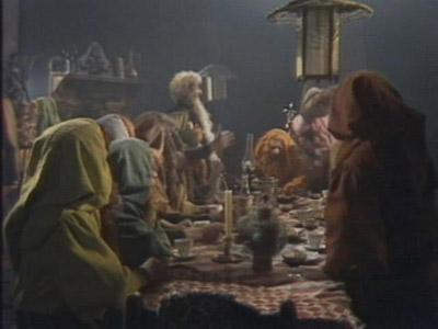 La visita dei tredici nani  casa di Bilbo