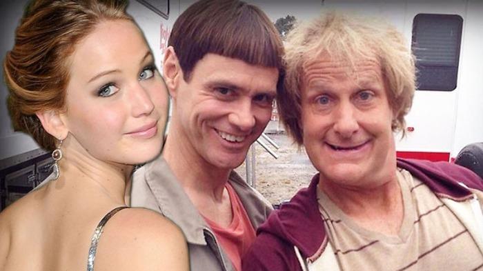 10- Jennifer Lawrence è una grande fan di Scemo & + scemo e avrebbe voluto sottoporsi al provino per recitare nel sequel.