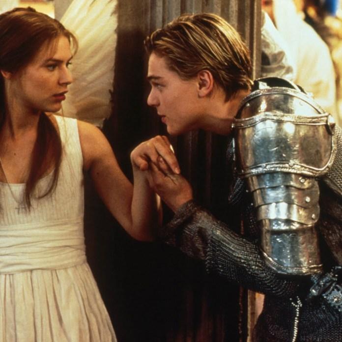 Leonardo DiCaprio e Claire Danes in Romeo + Giulietta (1996)
