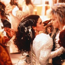David Bowie e Jennifer Connelly in Labyrinth (1986)