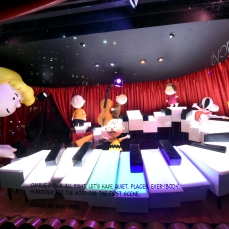 "Macy's Herald Square unveils its legendary Christmas windows celebrating the 50th Anniversary of the holiday classic, ""A Charlie Brown Christmas"" on Friday, Nov. 20, 2015, in New York. (Photo by Diane Bondareff/AP Images for Macy's)"