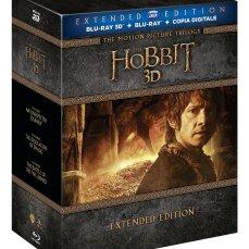 Lo Hobbit - La Trilogia (3D) (Extended Edition) (6 Blu-Ray 3D+9 Blu-Ray + Copia Digitale) EUR 54,59 su amazon.it