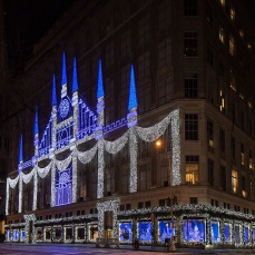 "Saks Fifth Avenue ""The Winter Palace"""