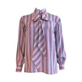 1970's YVES SAINT LAURENT Stripe silk blouse €201,94