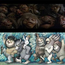 11- I goblins sono influenzati anche dalle illustrazioni di Maurice Sendak.