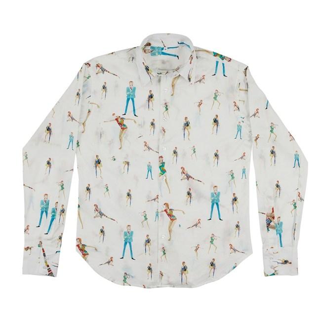 Camicetta Ziggy Stardust 130 sterline su violalondon.com