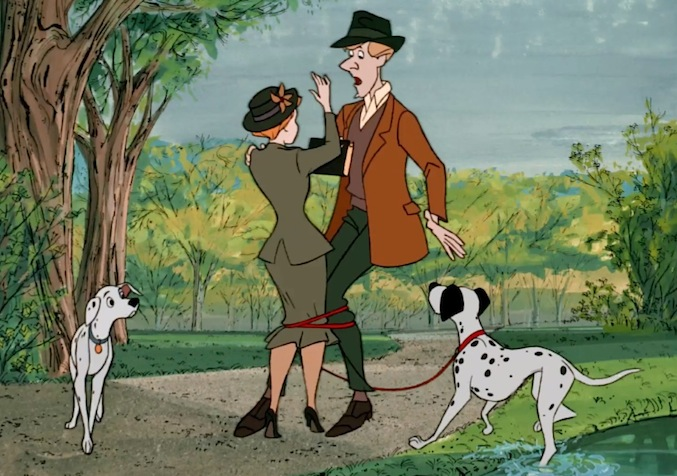 1- Diretto dal terzetto Wolfgang Reitherman - Hamilton Luske - Clyde Geronimi, fu il primo Classico Disney ambientato nell'anno in cui è uscito e, cioè, nel 1961. I precedenti film d'animazione erano ambientati in un'epoca passata o in un mondo di fantasia.