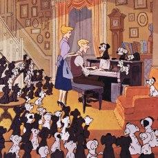 """4- La storia è ispirata ad un episodio accaduto all'autrice del romanzo omonimo, Dodie Smith, quando la sua coppia di dalmata partorì 15 cuccioli: uno di questi cagnolini fu chiamato, proprio, """"Pongo""""."""
