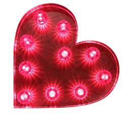 Light up heart £145 su etsy.com