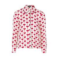 Heart print shirt £38 su Topshop