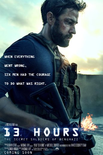 13 Hours: The Secret Soldiers of Benghazi da giovedì 31