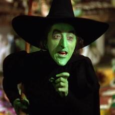 La perfida strega dell'Ovest ne Il mago di Oz (1939)