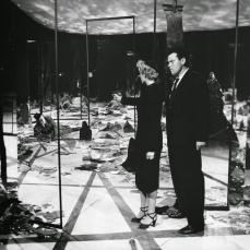 Il labirinto di specchi ne La signora di Shanghai (1947)