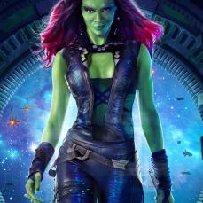 Gamora nei Guardiani della Galassia (2014)