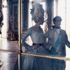 La galleria degli specchi nella Reggia di Versailles di Marie Antoinette, Kirsten Dunst.