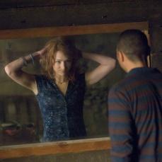 Lo specchio monitorato in Quella casa nel bosco (2012)