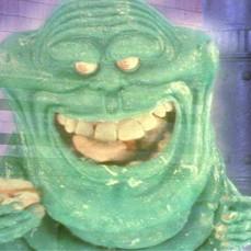 Slimer in Ghostbusters