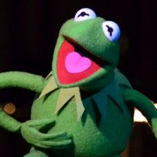 Kermit la Rana ne I Muppets