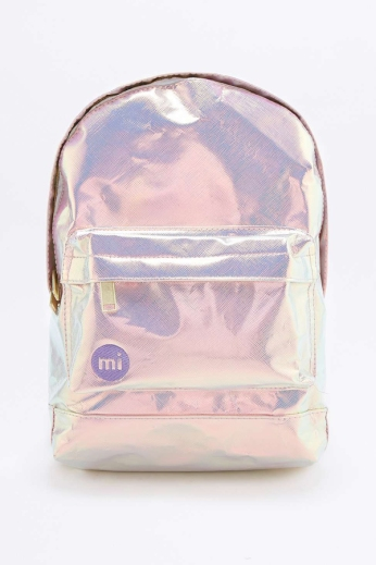 Mi-Pac Silver Hologram Mini Backpack €51 urbanoutfitters.com
