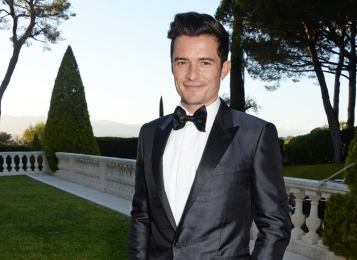 5- Orlando Bloom, 39 anni: ospite a un cocktail party agli amfAR Gala.