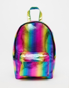 ASOS Mini Festival Rainbow Backpack €23 asos.com