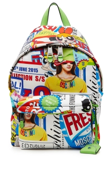Moschino Pop Culture Printed Backpack €580 stylebop.com