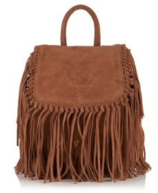 Superdry Premium Suede Neo Nomad Fringed Backpack €87 superdry.com