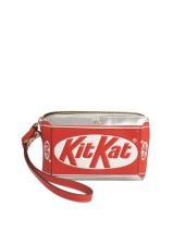 Anya Hindmarch Kit Kat Metallic Leather Clutch €740 saksfifthavenue.com