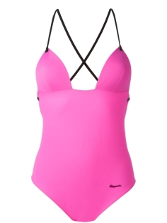 Dsquared2 Beachwear crisscross back swimsuit €285 farfetch.com