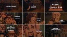 8- Charles Addams, creatore di La famiglia Addams, ha illustrato la grafica nella sequenza dei titoli di apertura e ha disegnato la locandina del film.