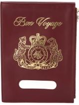 Charlotte Olympia 'Bonvoyage' large clutch £355.00