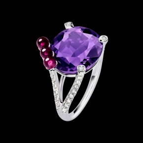 Piaget Limelight cocktail inspiration ring $ 12,900