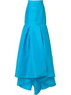 Monique Lhuillier high-rise long full skirt €2.285 farfetch.com