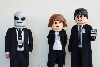 X-Files in versione Lego