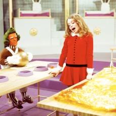 Denise Nickerson (Violet Beauregard) odiava il cioccolato!