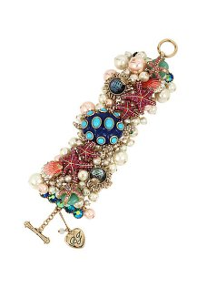 BETSEY AND THE SEA BAUBLE BRACELET €150 betseyjohnson.com