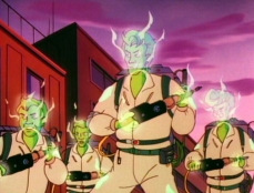 Gli Acchiappafantasmi spettrali in Amico Fantasma (stagione 1)