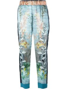 Forte Forte ocean print trousers €355 farfetch.com