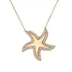 Talia Naomi - Under The Sea Necklace €225 wolfandbadger.com
