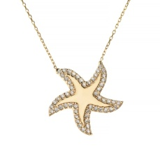 Talia Naomi - Under The Sea Necklace €225 wolfandbadger.com