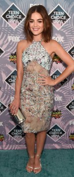 Lucy Hale in Azzaro Couture