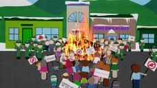 """South Park - Il film detiene il record sul Guinness dei primati come il film d'animazione in cui è presente il maggior numero elementi offensivi con le sue 399 parolacce (tra cui 146 volte il termine """"fuck"""" o suoi derivati), 221 atti di violenza e 199 gesti offensivi."""