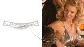 Lively mostra il bracciale swingy d'ispirazione vintage con 263 brillanti.