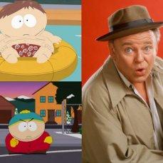 Eric Cartman, l'antieroe obeso di otto anni, è la versione cartoon, poppante e sboccata protagonista della sitcom Arcibaldo (1971-1979) interpretato da Archie Bunker.