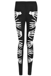 Boohoo Halloween Yanni Skeleton Hand Leggings €9,21 boohoo.com